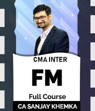 Video Lecture CMA Inter Financial Management By Sanjay Khemka