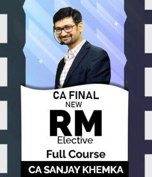 Video Lecture CA Final Risk Management New Syllabus Sanjay Khemka