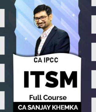 Video Lecture CA IPCC ITSM Old Syllabus By anjay Khemka