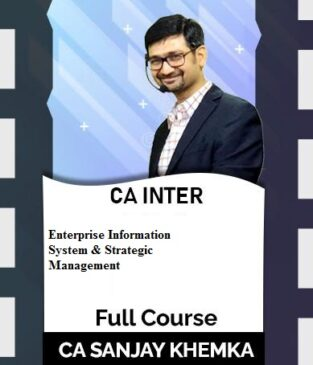 Video Lecture CA Inter EIS & SM New Syllabus By Sanjay Khemka