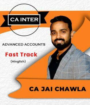 Video Lecture CA Inter Adv Accounting Fast Track New SyllabusJai Chawla