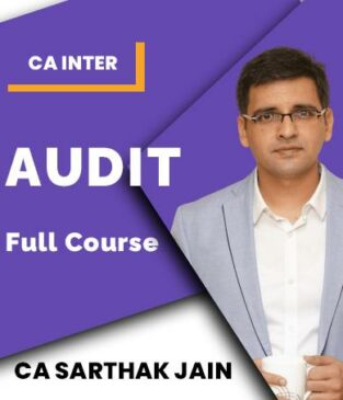 Video Lecture CA Inter Auditing and Assurance By CA Sarthak Jain