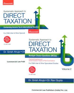 Commercial With MCQs Direct Taxation Girish Ahuja Ravi Gupta