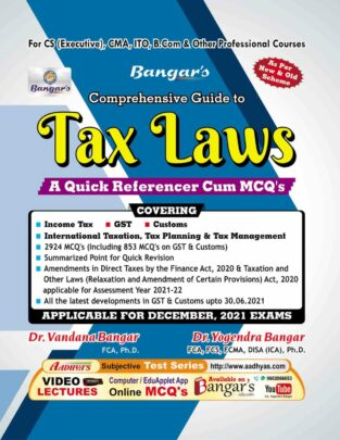 Aadhya Prakashan Comprehensive Tax Laws Practice Yogendra Bangar