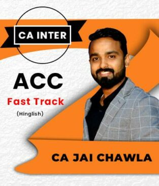 Video Lecture CA Inter Fast Track Full Course By CA Jai Chawla