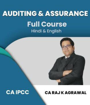 Video Lecture CA IPCC Auditing Assurance Old Syllabus Raj K Agrawal