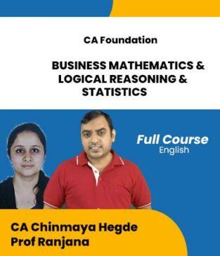 Video Lecture CA Foundation BMLRS CA Chinmaya Hegde Prof Ranjana