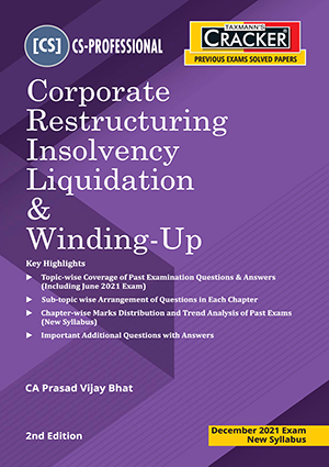 Taxmann CS Final Cracker Corporate Restructuring By Prasad Vijay Bhat
