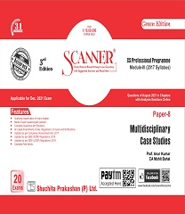 Scanner CS Professional Programme 2017 Syllabus Multidisciplinary