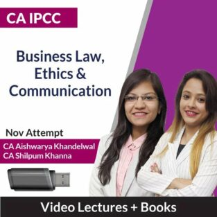 Video Lecture CA-IPCC Business Law, Ethics & Communication