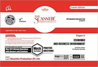 Shuchita Model Scanner CSEET Paper - 3 Economic and Business Environment