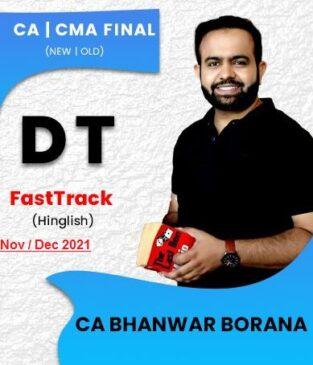 Video Lecture CA Final Direct Tax Fast Track Bhanwar Borana