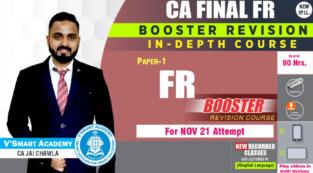 Video Lecture CA Final Financial Reporting Booster CA Jai Chawla