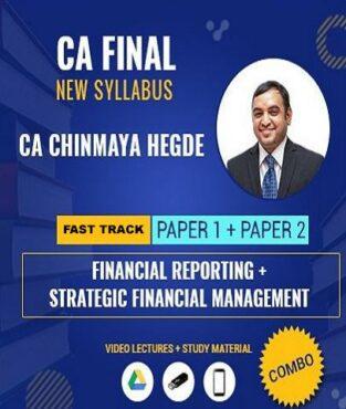 Video Lecture CA Final FR / SFM Chinmaya Hegde New Syllabus