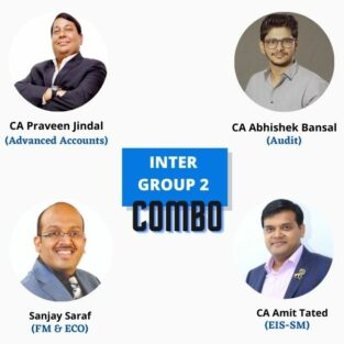 Video Lecture CA Inter Group 2 Combo Parveen Jindal Abhishek Bansal