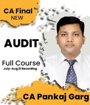 Video Lecture CA Final Auditing Regular New Syllabus By CA Pankaj Garg