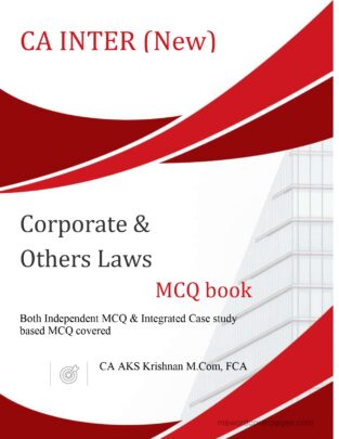 CA Inter Corporate and Other Law New Syllabus By CA AKS Krishnan