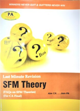 CA Final Last Minute Revision SFM Theory By CA K Hariharan