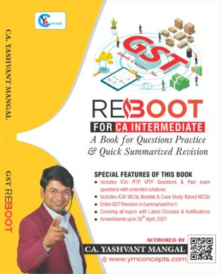 CA Inter GST Reboot Questions Practice By Yashvant Mangal