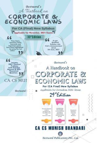 Bestword CA Final Law Textbook Handbook Book Munish Bhandari
