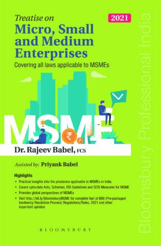 Bloomsbury Micro Small and Medium Enterprises By Rajeev Babel