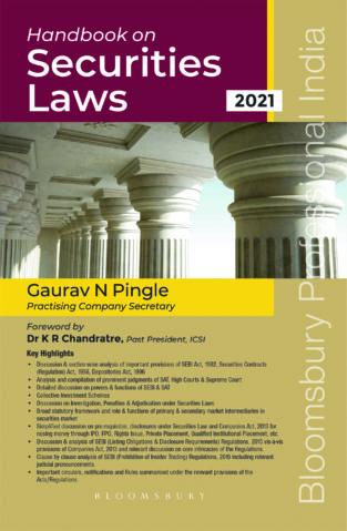 Bloomsbury Handbook on Securities Laws By Gaurav Pingle