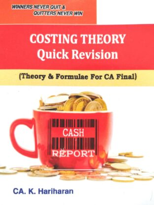 CA Final SCMPE Theory & Formulae Quick Revision By CA K Hariharan