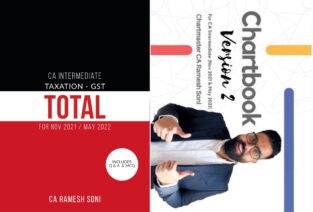 CA Inter Combo Chartbook + GST Total with Q&A By CA Ramesh Soni