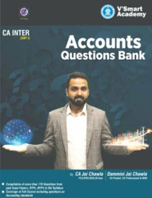 CA Inter Group 1 Accounts Question Bank New Syllabus By CA Jai Chawla