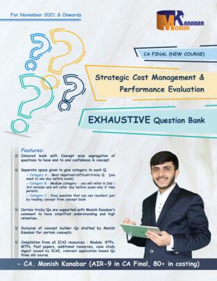 CA Final Exhaustive Question Bank SCMPE By CA Monish Kanabar