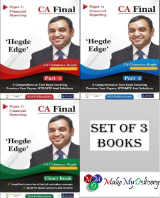 CA Final FR Comprehensive Text Book and Chart By CA Chinmaya Hegde