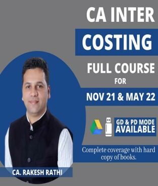Video Lecture CA Inter Costing New Syllabus By CA Rakesh Rathi