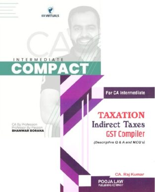 CA Inter Combo DT Compact And GST Compiler By CA Bhanwar Borana