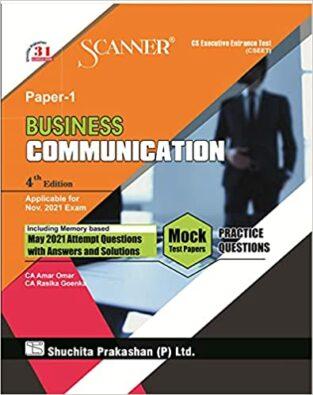 Shuchita Model Scanner CSEET Business Communication Amar Omar