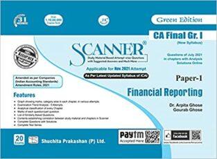 Shuchita Scanner CA Final New Syllabus Financial Reporting