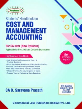 Commercial CA Inter Cost and Management Acco B Saravana Prasath