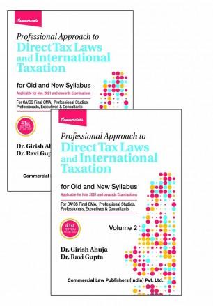 Commercial CA Final Direct Tax Laws By Dr Girish Ahuja Dr Ravi Gupta