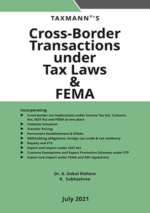Taxmann Cross-Border Transactions FEMA By R Subhashree