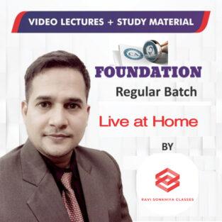 CA Foundation Full Course Online Classes By Ravi Sonkhiya
