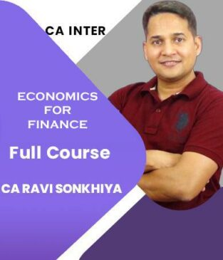 Video Lecture CA Inter Economics for Finance New By CA Ravi Sonkhiya