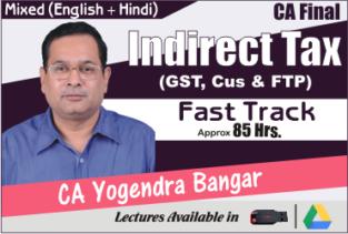 Video Lecture CA Final IDT Fast Track CA Yogendra Bangar