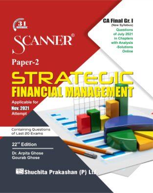 Shuchita Scanner CA Final Strategic Financial Management Regular