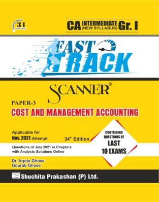Shuchita Scanner CA Inter Cost and Management Accounting (Fast Track Edition)