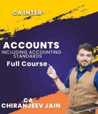 Video Lecture CA Inter Accounts Including AS By CA Chiranjeev Jain