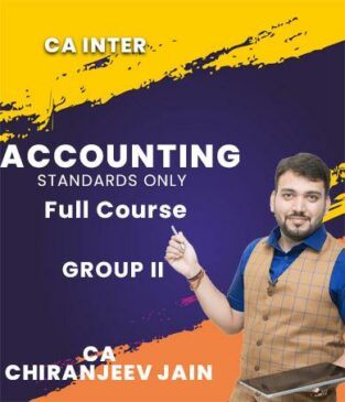 Video Lecture CA Inter AS Only New Syllabus By CA Chiranjeev Jain