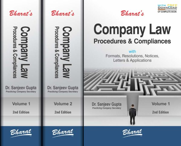 Bharat Company Law Procedures & Compliances By Sanjeev Gupta