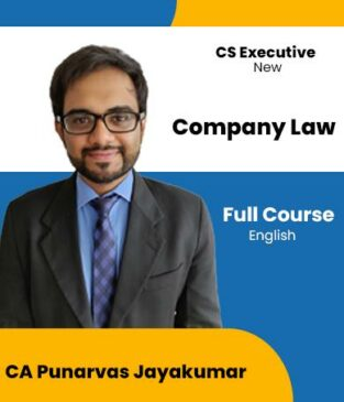Video Lecture CS Executive Company Law Full Course By Punarvas Jayakumar