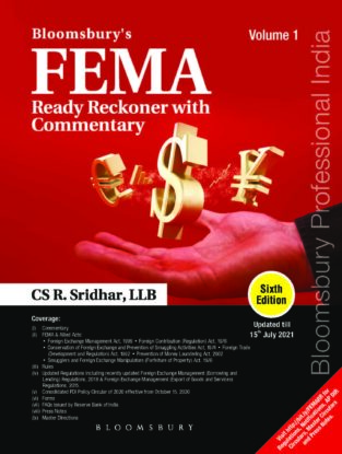 Bloomsbury FEMA Ready Reckoner with Commentary R.Sridhar