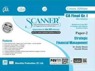 Solved Scanner CA Final Group-I Strategic Financial Management