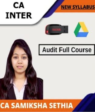 Video Lecture CA Inter Audit New Full Course By CA Samiksha Sethia